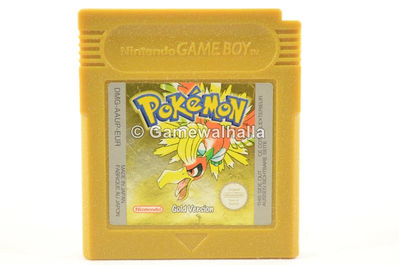 Pokémon Gold Version (perfecte staat - cart) - Gameboy Color