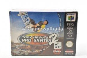 Tony Hawk's Pro Skater 2 (new - cib) - Nintendo 64