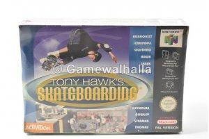 Tony Hawk's Skateboarding (new - cib) - Nintendo 64