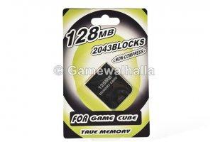 Gamecube Memory Card 128 MB (new) - Gamecube