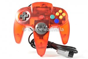 N64 Controller Crystal Red (new) - Nintendo 64