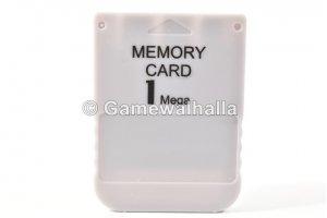 PS1 Memory Card 1 MB (new) - PS1