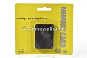 PS2 Memory Card 64 MB (new) - PS2