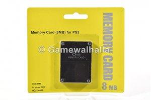 PS2 Memory Card 8 MB (new) - PS2
