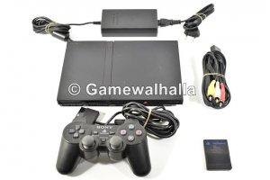 PS2 Console Flat Zwart - PS2