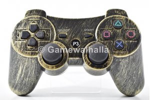 PS3 Controller Wireless Sixaxis Doubleshock Rusty Gold (new) - PS3