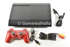 PS3 Console Ultra Slim 500 Go + Manette Rouge - PS3