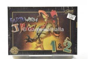 Earthworm Jim 1&2 NEUF (NTSC - cib) - Snes