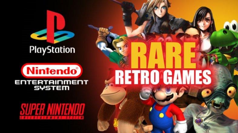 Rare Retro Games
