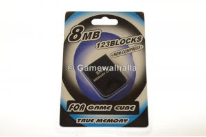 Gamecube Memory Card 8 MB (new) - Gamecube
