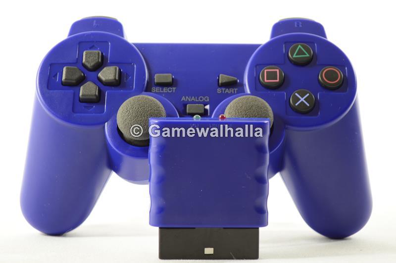 Manette Sans Fil Bleu (neuf) - PS2