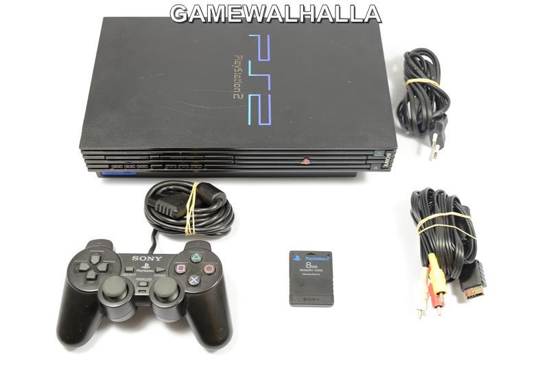PS2 Console Fat Black - PS2